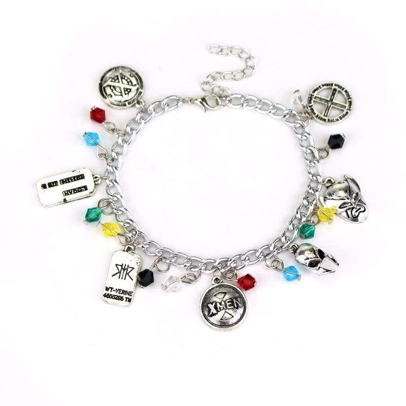 xcoser-de,XCOSER X-Men Character Logo Combination Zinc alloy Bracelet,Jewelry
