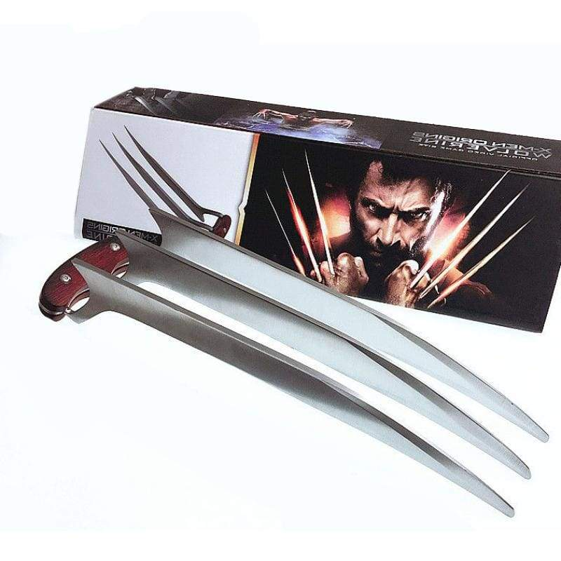 Xcoser X-men Wolverine Claws Cosplay Weapon Prop