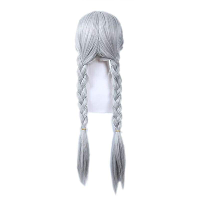 xcoser-de,Zootopia Judy Hopps Cosplay Wig with Two Braids Costume Anime Wig,Wigs