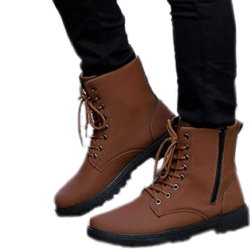 xcoser-de,Zootopia Nick Wilde Whoes Brown Cosplay Costume Shoes,Boots