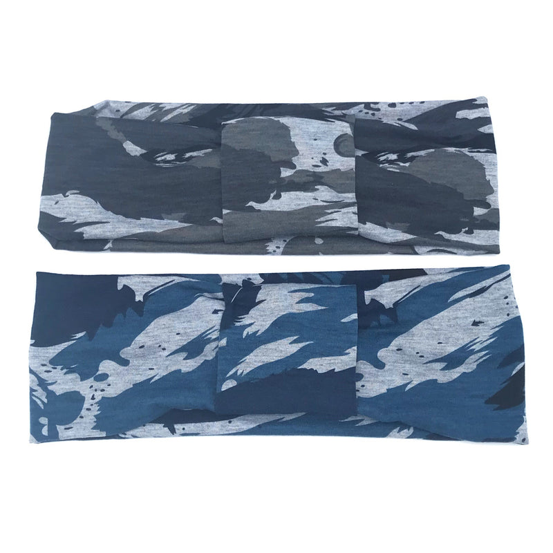 Modern Camouflage Single Strip Headband