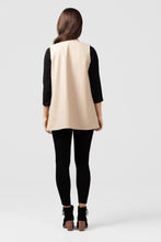 Beige Wool Cape