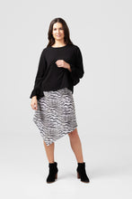 Smoke Drape skirt