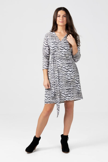 Smoke Wrap Dress