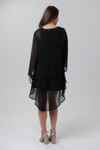 Feather Slit Sleeve Top