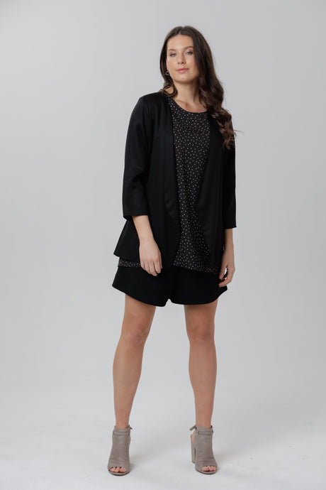Soft Blazer Black