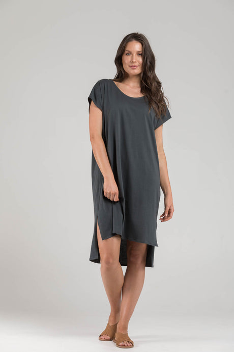 KALILA Cap Sleeve Dress