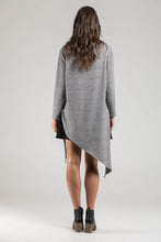 Grey Marle Triangle Knit