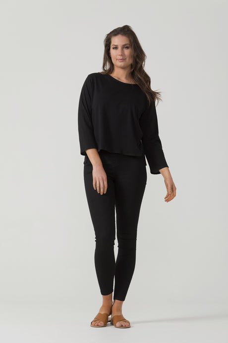 Organic Cotton 3/4 Sleeve Top - Pre Order