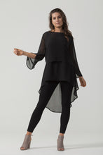 Chiffon Slit Sleeve Top