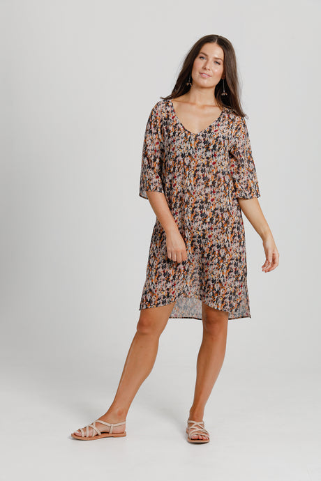 Flower Fields Shift Dress