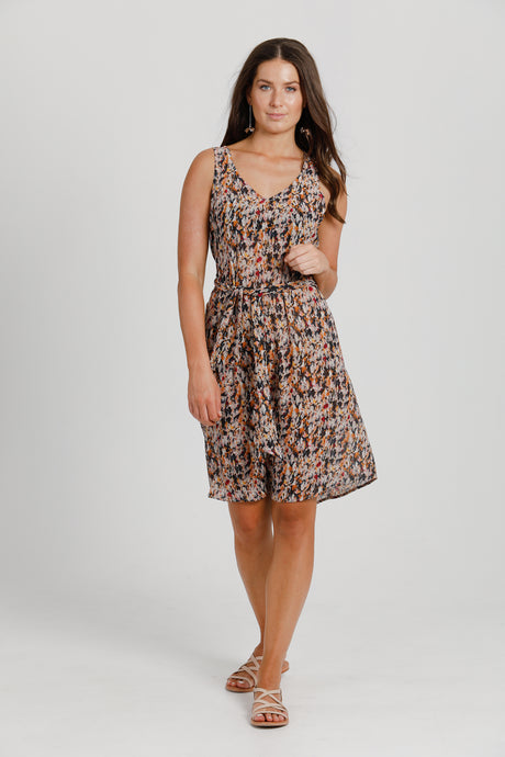 Flower Fields Tie Dress