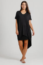 Jersey Asymmetrical Dress