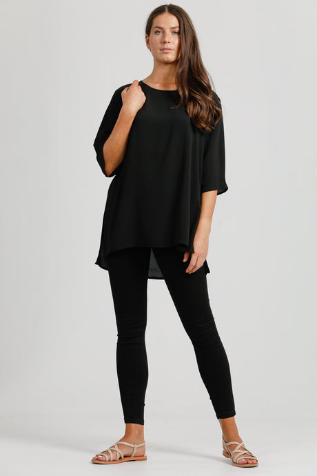 Black Shift Top