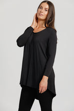 Black Jersey 'New' Staple Top