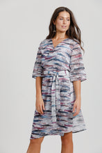 Purple Rain Wrap Dress