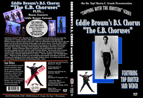 Eddie Brown's B.S. Chorus aka EB Chorus  - Tap Level: Intermediate-Advanced