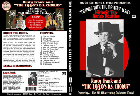 Rusty Frank & 1930's B.S. Chorus - Tap Level: Intermediate