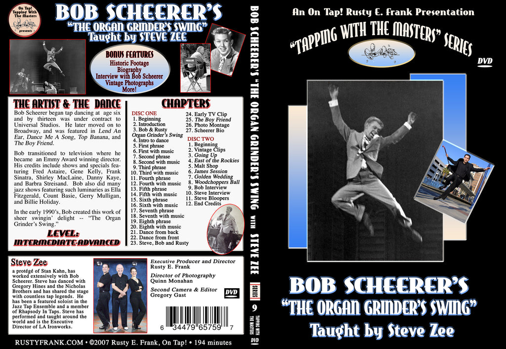 "Bob Scheerer's ""The Organ Grinder's Swing""  - Tap Level: Intermediate-Advanced"