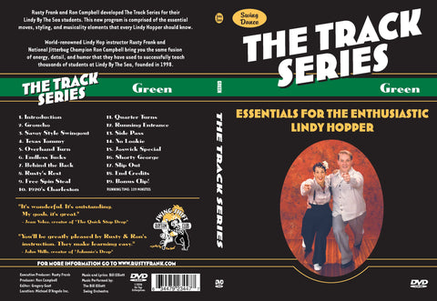 "Track Series  - Green - ""Essentials for the Enthusiastic Lindy Hopper"""