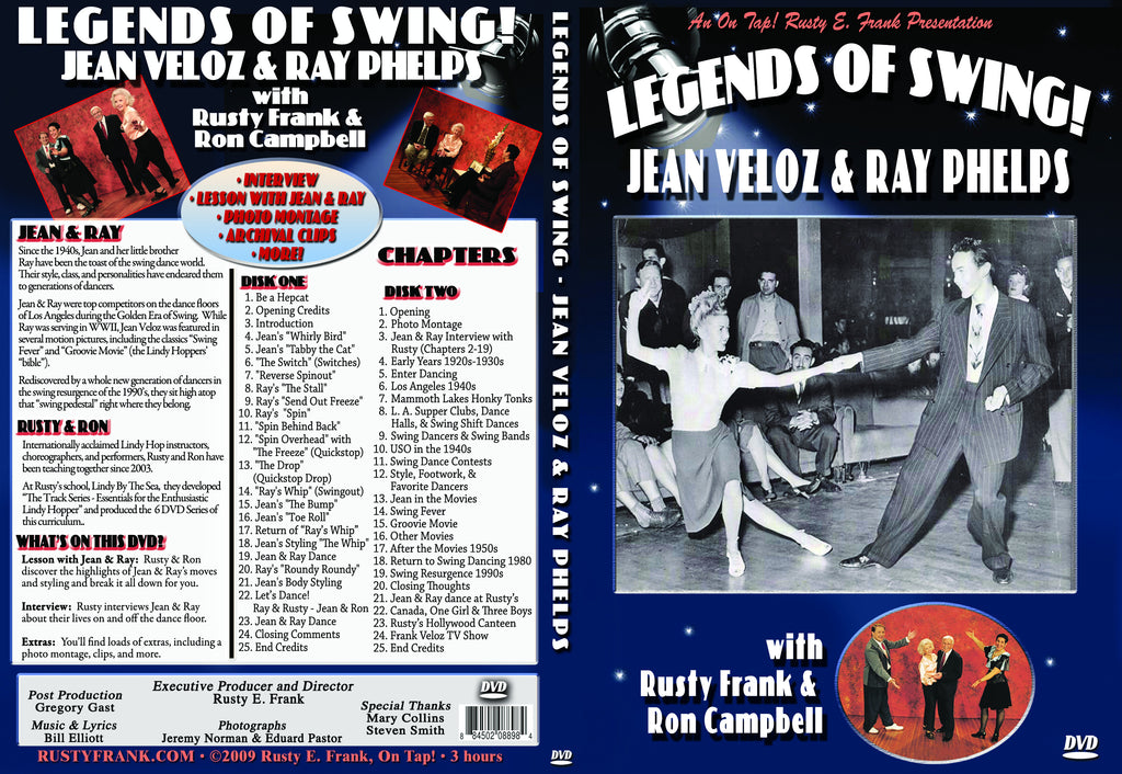 Legends of Swing - Jean Veloz & Ray Phelps, Hollywood Style