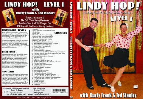 Lindy Hop! With Rusty & Ted - Level 1