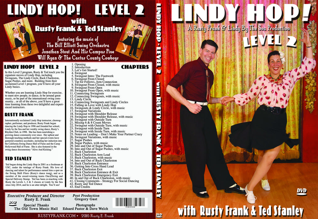 Lindy Hop! With Rusty & Ted - Level 2