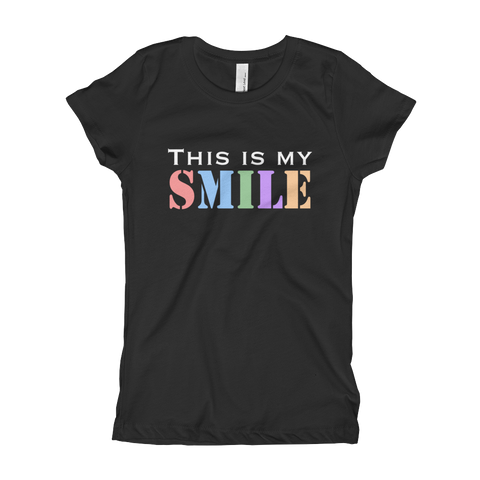 This Is My Smile Girl's T-Shirt