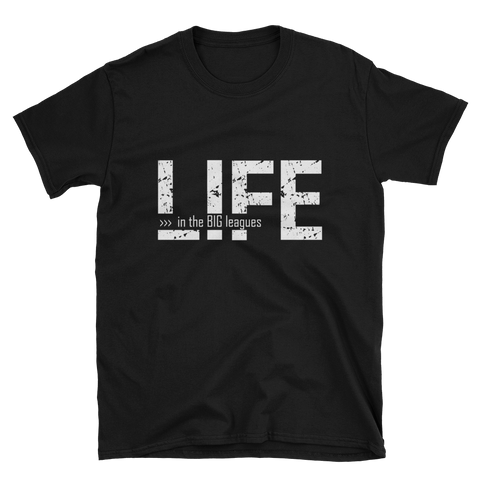 Life In The Big Leagues Men Short Sleeve T-Shirt