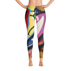 Graffiti Urban Edition Colorful All-Over Leggings