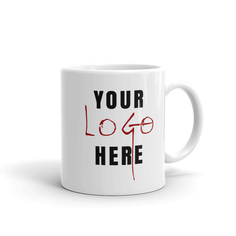 Your Logo Here & Create Your Own Custom Mug