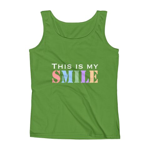 This Is My Smile Ladies' Tank Top
