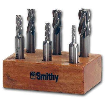 4-Flute HSS End Mill Set