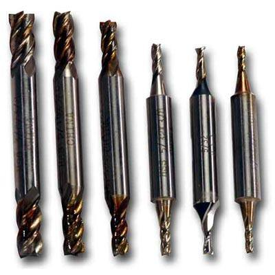 Double-Ended End Mill Set