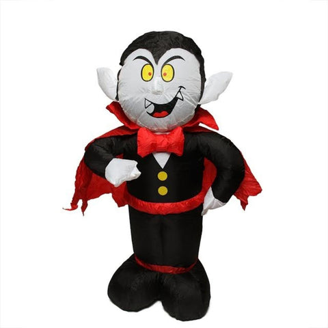 bzb 4 inflatable spooky count dracula lighted halloween yard art decoration 31739608 inflatables hub