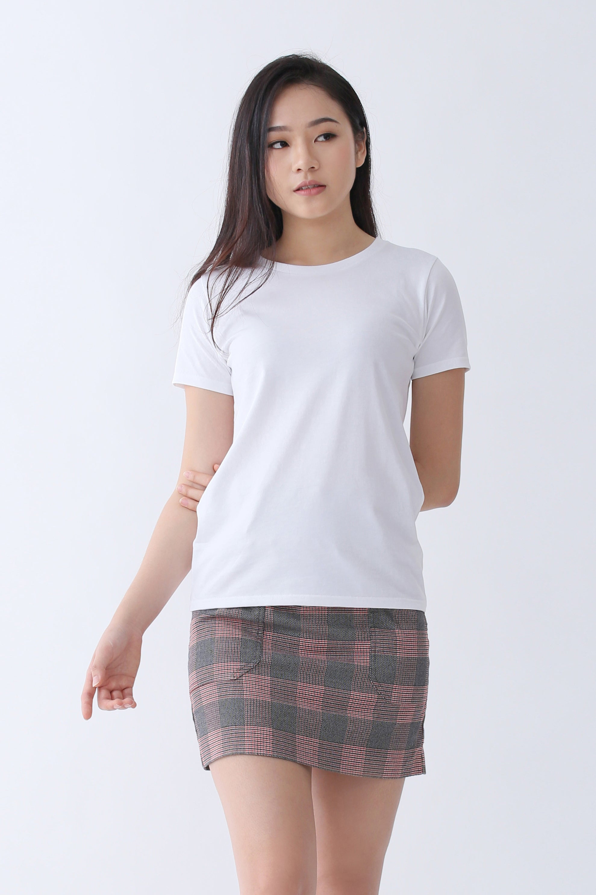 9a148cfa59 Supima Cotton Relaxed Cut T-shirt | Signature White | For Women ...