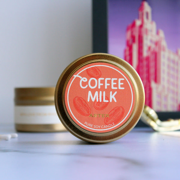 Small Coffee Milk Tin