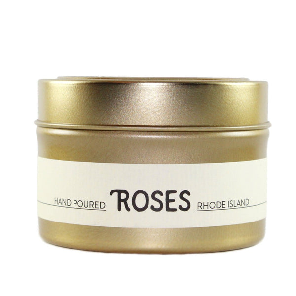 Roses scented candle