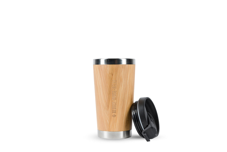 Reusable Bamboo Travel Mug