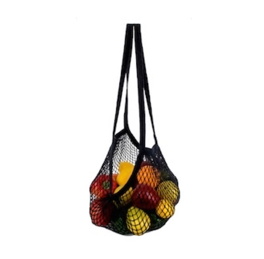 Double-Handle Organic Cotton String Bag