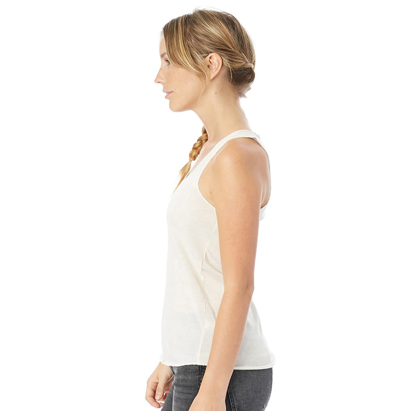 In the Buff Eco Blend Racerback Tank