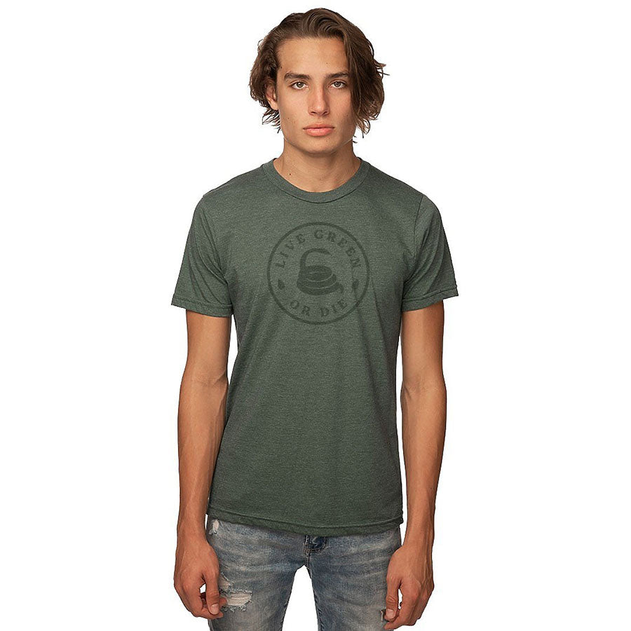 Live Green or Die Recycled Tee