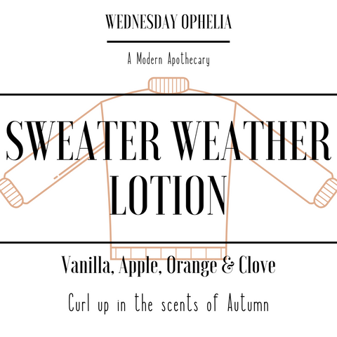 Limited Edition Sweater Weather Lotion