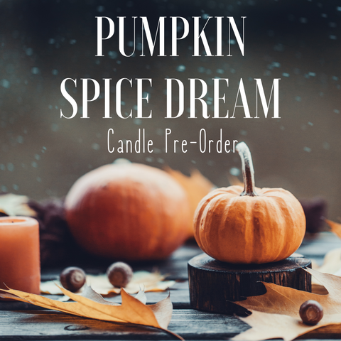 Limited Edition Pumpkin Spice Dream Candle