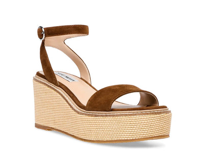 Composed Suede Wedge Heel