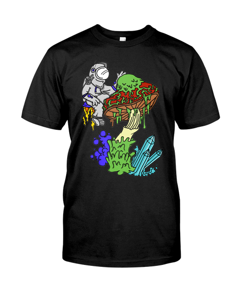 AstroShroom T-Shirt - PsyKoNot Apparel