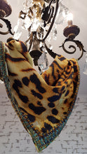 Wild Sahara 100% Silk Cushion Covers / Scarf