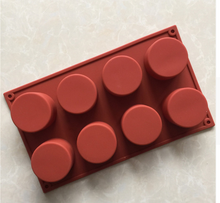 Cylinder / Tube Silicone Dessert Mould