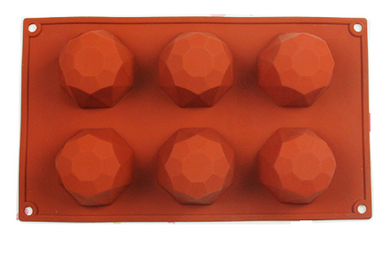 Gem/Diamond Shape Silicone Dessert Mould
