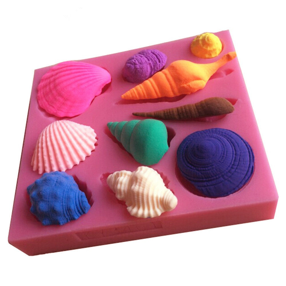 PETITE OCEANIC THEMED SILICONE MOULDS